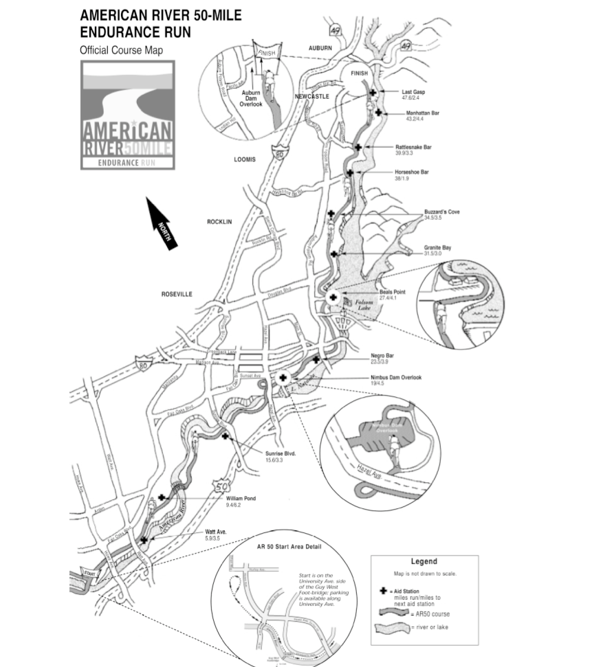AR50 Course Map