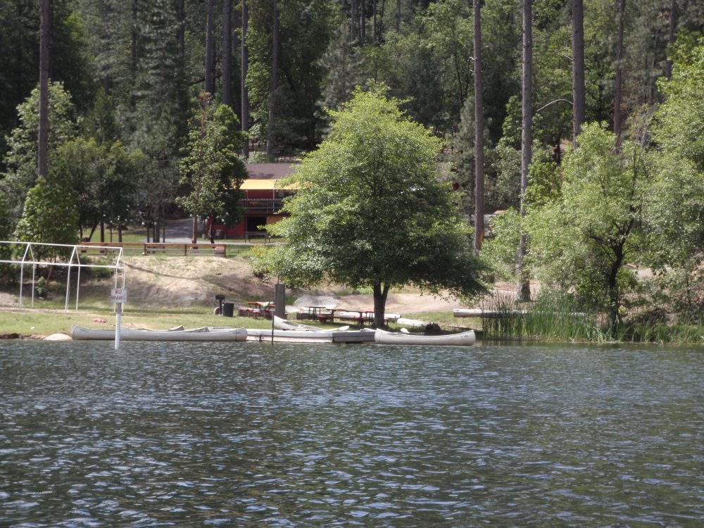 Our lakeside cabin, 3 miles from South Yuba