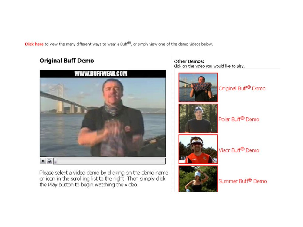 PowerPoint Slide Show - [Ways to Wear a Buff.ppt] 6242009 100911 AM