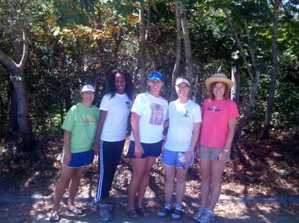 South Valley Running Club - Kim, Allison, Kathy, Raina, Andrea